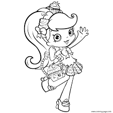 print shopkins shoppie coloring pages cooki kooki