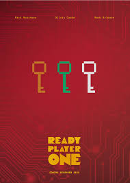 Ready Player One Ready Player One Poster By Tom Wilding
