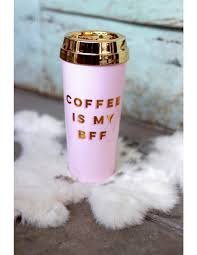 coffee is my bff thermal travel mug ban do bando coffee mug
