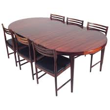 Rosewood Dining Room Set Rosewood Dining Set By Severin Hansen For Bovenk 1960s