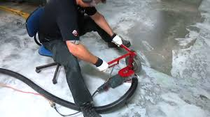 spectacular results with diy concrete garage floor coating tips