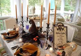 halloween tablescape with crow tree centerpiecejpg3 kitchentoday