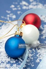 white and blue ornaments stock photo getty images