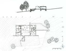Hoke House Floor Plan Marcel Breuer Hooper House Plan House Plans