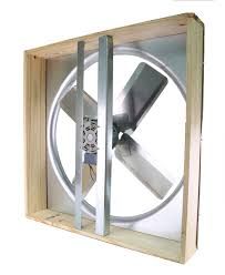 cool attic 30 inch direct drive whole house fan with shutter
