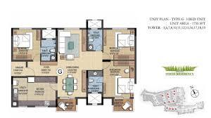 prestige fern residency bangalore floor plans