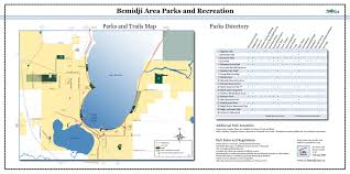 Minnesota State Parks Map by Find Your Next Adventure Biking Bemidji