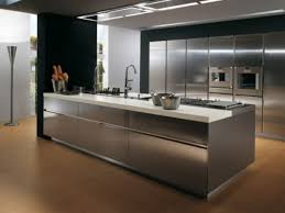 kitchen stainless steel kitchen inside impressive contemporary