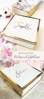 keepsake box personalized bridesmaid box personalized bridesmaid gift box wedding keepsake