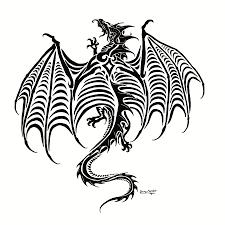 dragon tattoo commish by sunima on deviantart