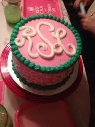 cake monograms monogram birthday cake that s so me monogram