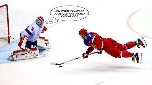 Hockey Goalie Memes - jimmy fallon jokes about alex ovechkin photo on the tonight show