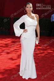 discount kim kardashian dress one shoulder 2017 kim kardashian