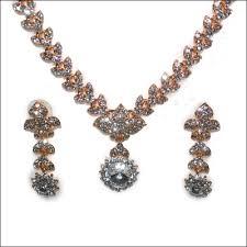 white stone necklace sets images Send fancy necklace sets to hyderabad vizag vijayawada guntur jpg