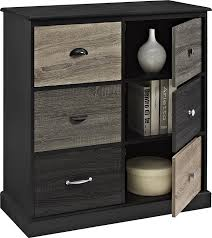 6 Cube Step Storage by Amazon Com Ameriwood Home Blackburn 6 Door Storage Cabinet With