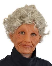 woman mask halloween supersoft old woman zagone studios