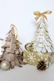 scrapbook paper cone trees domestically creative