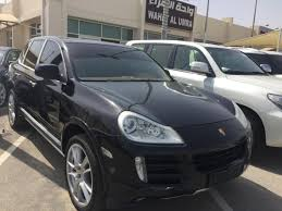 porsche cayenne all black porsche cayenne 2008 black for sale kargal uae