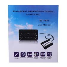 bluetooth music u0026amp hands free car adapter interface for honda