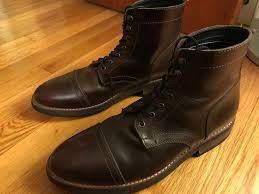 budget motorcycle boots review thursday presidents brown goodyearwelt