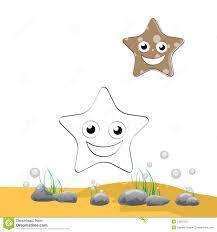coloring starfish stock photos image 31850303