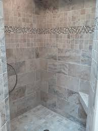 shower accent tile ideas shower tile accent strips shower tile