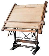 Drafting Table Plans Wood Drafting Table Brokenshaker