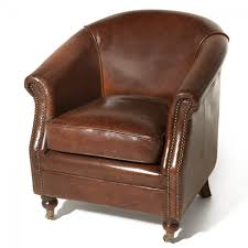 Fauteuil Club Cigare by Fauteuil Cuir Zola Hugo