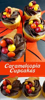 thanksgiving caramelcopia cupcakes these thanksgiving