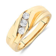 gold ring for men mens rings shop online for mens rings at michael hill jewelers