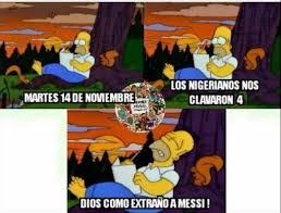 Argentina Memes - los memes de la derrota de argentina ante nigeria