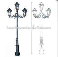 Outdoor Light Post Fixtures by Aluminium Single Arm Outdoor Lighting Pole Cast Iron Outdoor Lamp