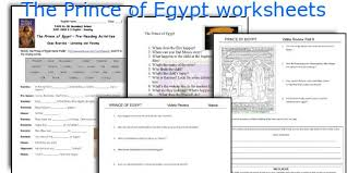 english teaching worksheets the prince of egypt