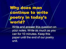 poetry students yes thank you mrs smith ppt download