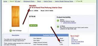 Prehung Doors Interior Pre Hung Door 32x80 Is That Door Size Or Total Size Building