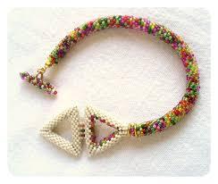 beaded rope bracelet images 140 best bead crochet ideas images bead crochet jpg