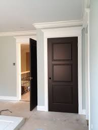 white interior doors with glass dark doors white trim this looks really pretty but i u0027m not sure