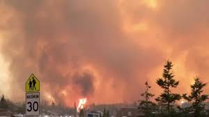 Largest Wildfire In Alberta History by Fort Mcmurray Wildfire 80 000 Evacuated Over Out Of Control Blaze