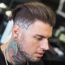 photo of the back of hair with a short bob 25 slicked back hairstyles men s haircuts hairstyles 2018