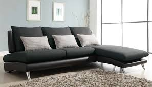 Black Fabric Sectional Sofas Fascinating Furniture For Living Room Decoration Using Black And