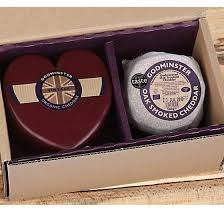 cheese gift organic heart shaped cheese gift box free delivery boroughbox