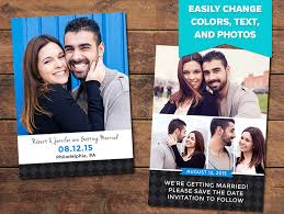 Save The Date Samples Charcoal Save The Date Template Photographypla Net