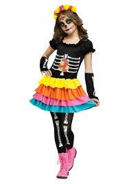 la muerte costume sugar skull day of the dead costumes halloweencostumes