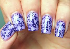 nails design butterfly beautify themselves with sweet nails