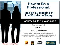Resume And Interview Coaching Gwu Multicultural Business Student Association Preparation For