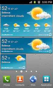 accuweather android app top 10 must samsung galaxy s ii widgets careace 1