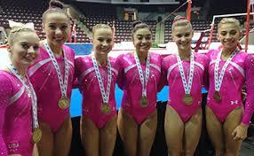 Desert Lights Gymnastics Usa Gymnastics Usa Wins Women U0027s Team Gold At Senior Pan American