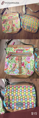 bloom purses lot of 2 bloom messenger style purses bloom bags
