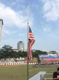 Flags At Half Mass Today The Red Shirts Din Merican The Malaysian Dj Blogger