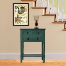 Teal Accent Table Sauder Accent Tables Living Room Furniture The Home Depot